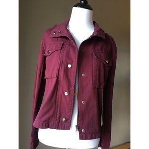Brand New Burgundy Jacket